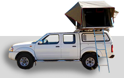 Vehicle roof tent camping for hire